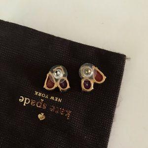 kate spade Jewelry - Kate Spade cluster gem Stud Earrings